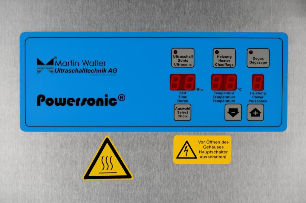 Panneau de contrôle Powersonic