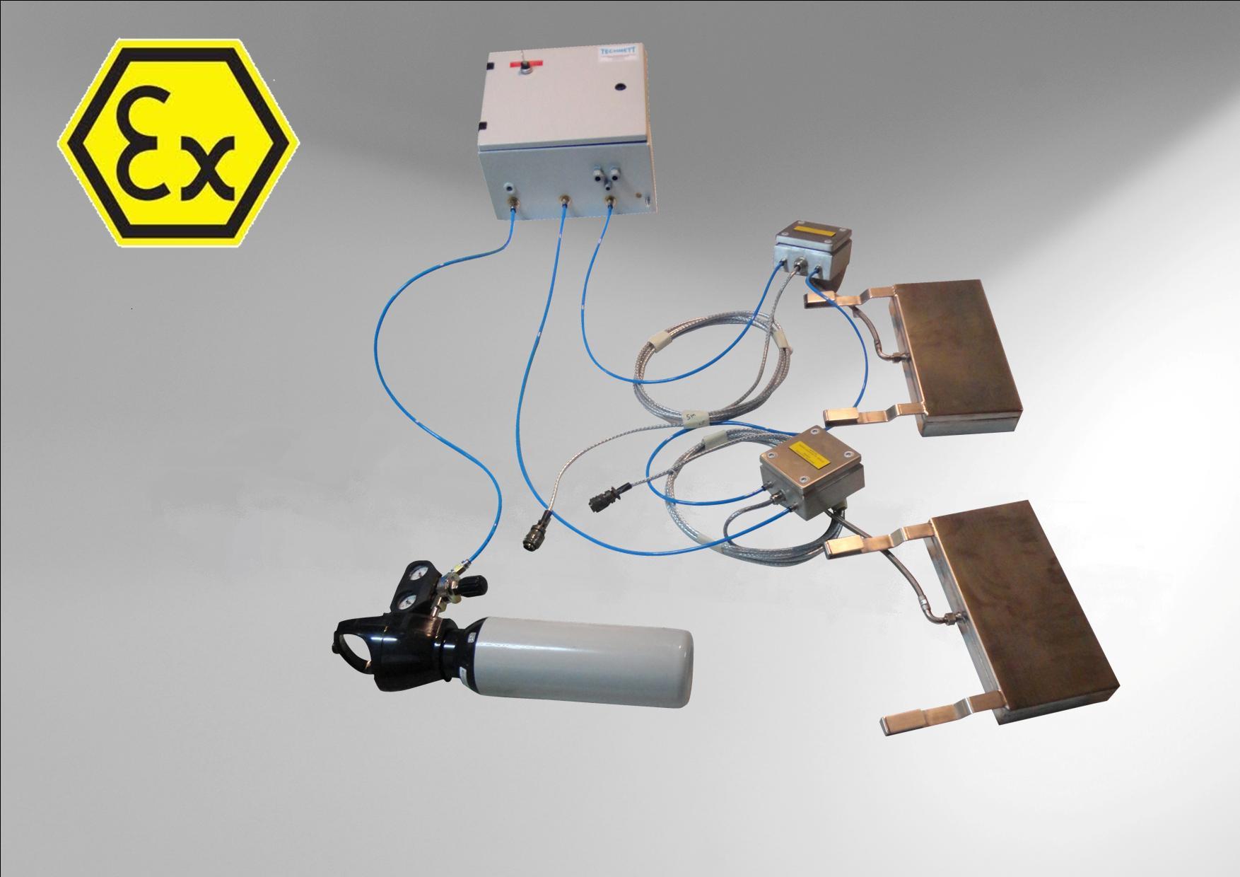 Préparation ATEX par inertage Azote
