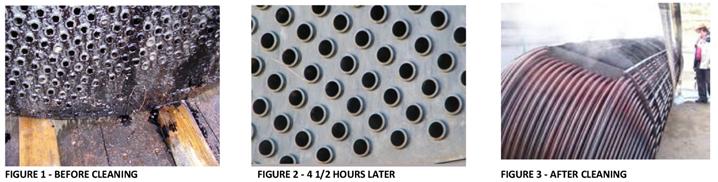 Exemple de nettoyage par ultrasons de produits pétrolier