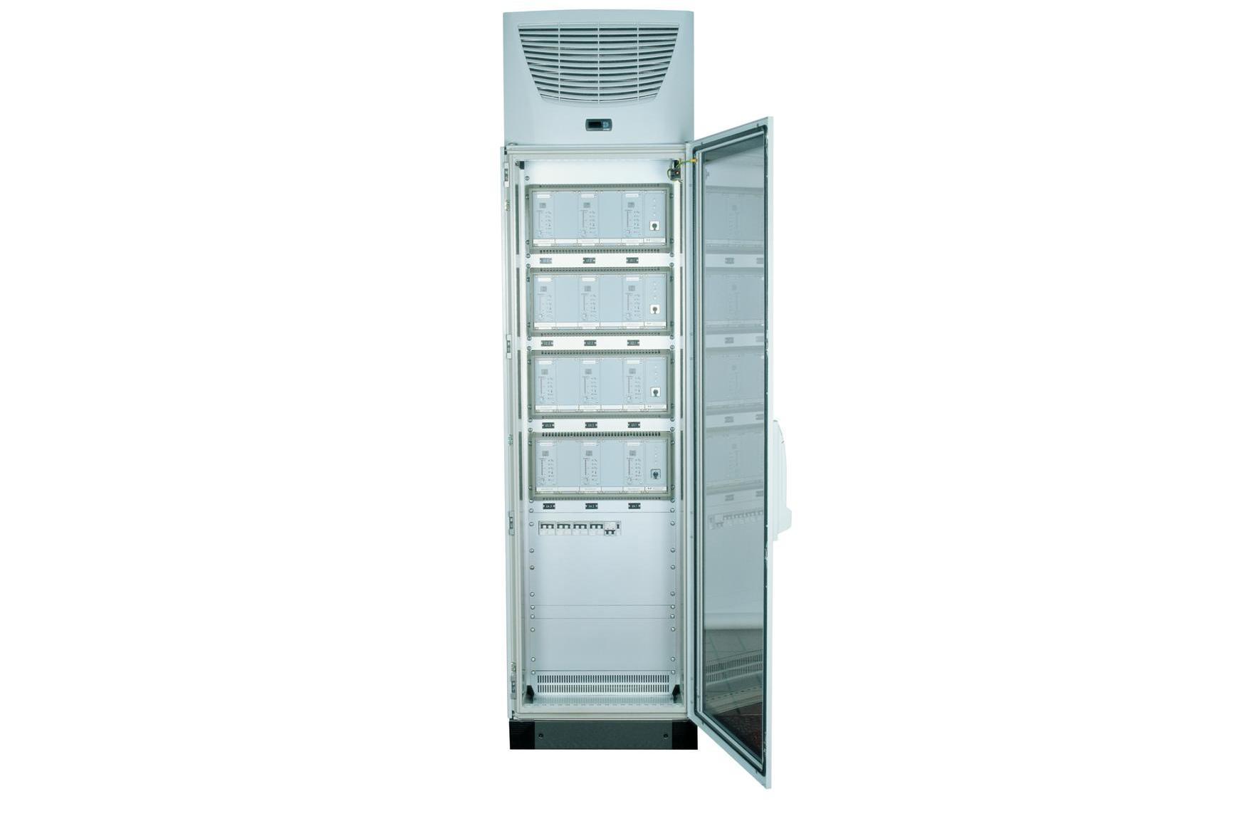 Armoire climatisée pour générateurs à ultrasons.