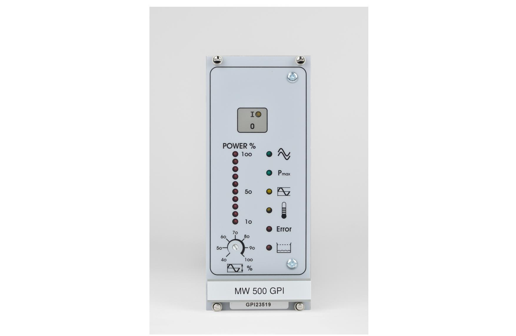 Générateur à ultrasons modèle GTI et GPI